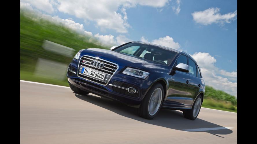 Audi SQ5 TDI, un fulmine a gasolio