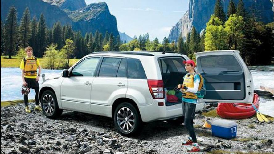 Suzuki Grand Vitara restyling, in Giappone è Escudo