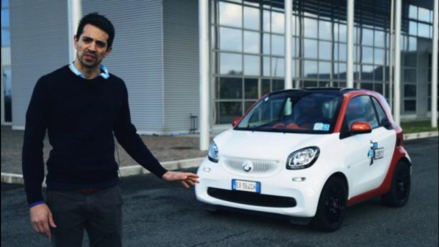 La smart fortwo secondo lo YouTester Francesco Baldi