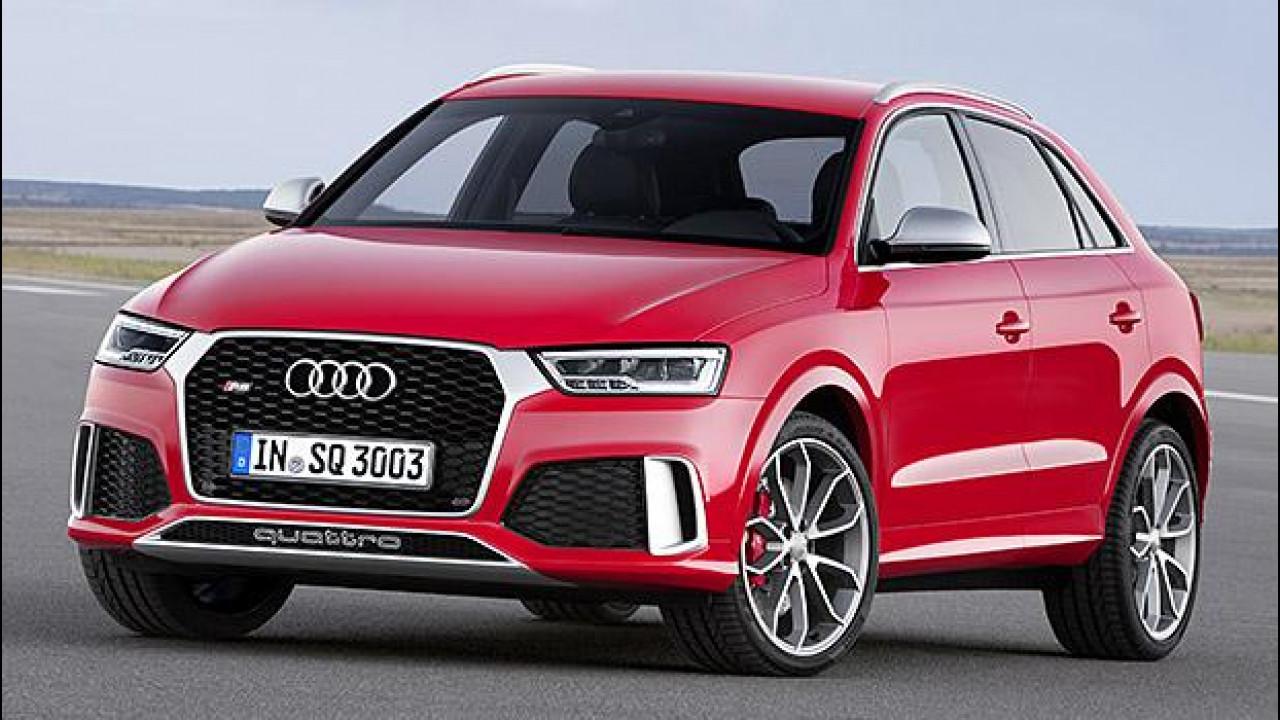 [Copertina] - Audi Q3 restyling, diesel per iniziare e sportiva per esagerare