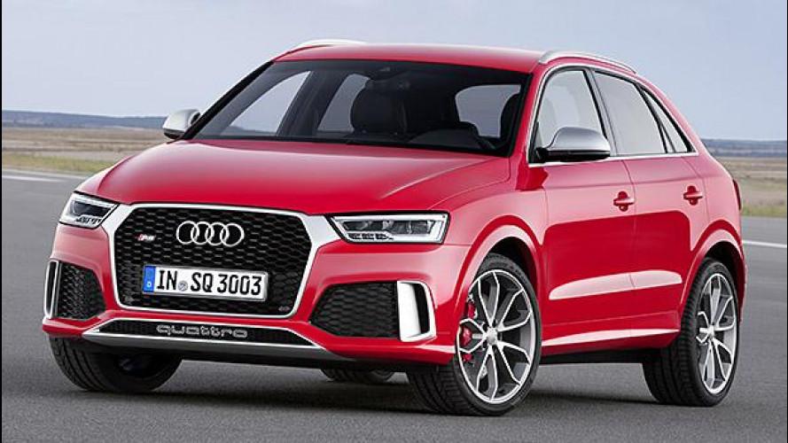 Audi Q3 restyling, diesel per iniziare e sportiva per esagerare