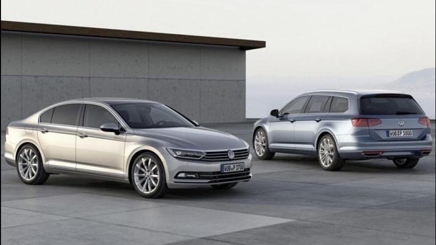 Nuova Volkswagen Passat, i prezzi