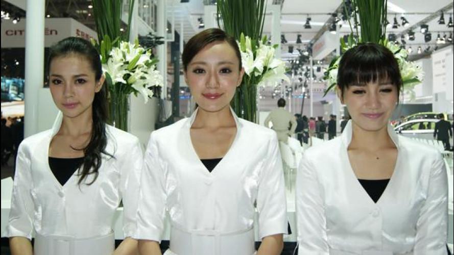 """Le """"cinesi"""" del Salone di Pechino 2012"""
