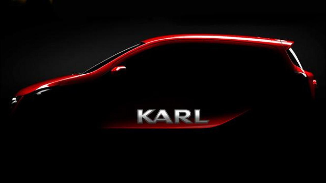 [Copertina] - Opel Karl, sarà lei nuova piccola di famiglia