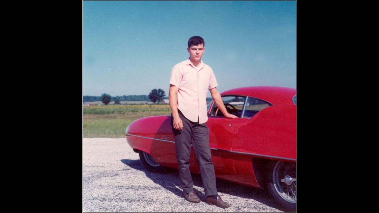 Gary Kaberle da giovane con la sua prima BAT