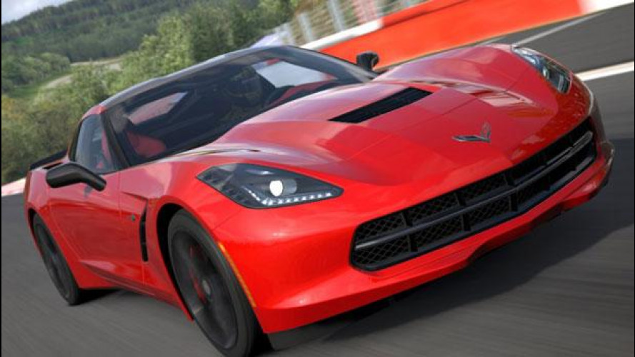 Corvette Stingray 2014, adesso in Gran Turismo 5