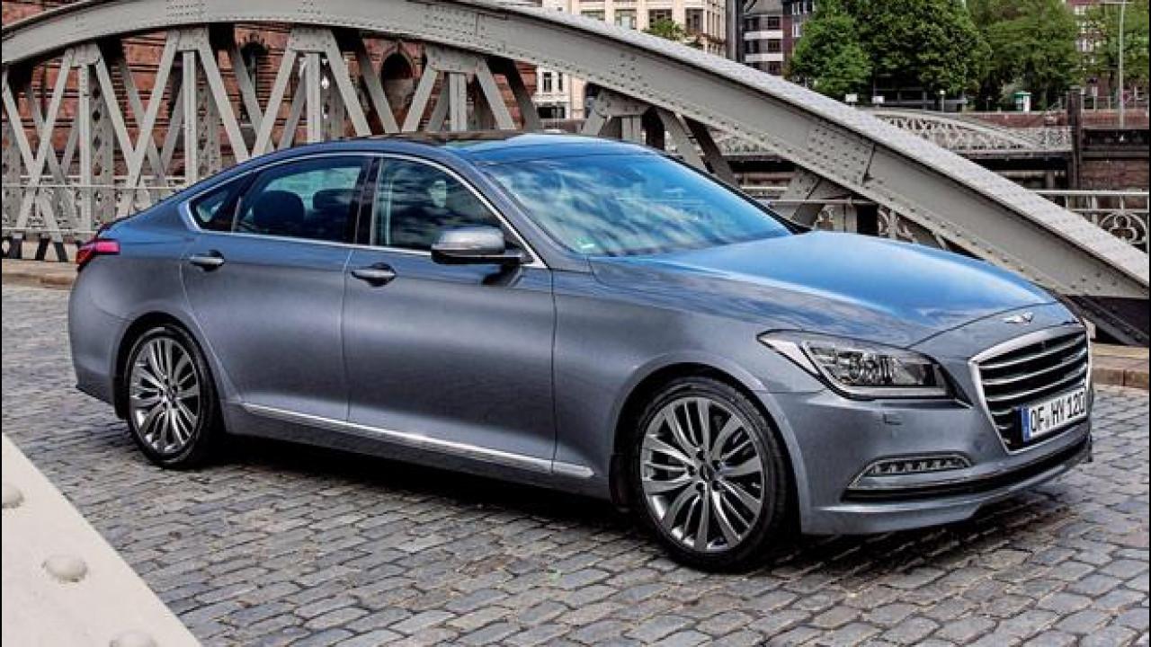[Copertina] - Nuova Hyundai Genesis: quanto costa la coreana anti tedesche