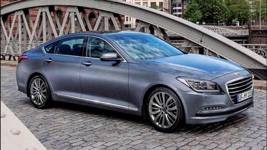 Nuova Hyundai Genesis: quanto costa la coreana anti tedesche