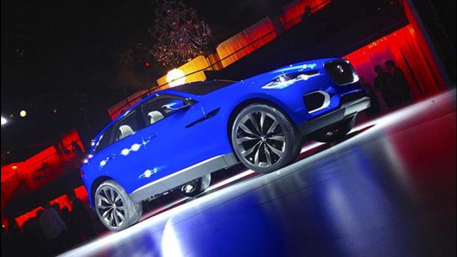 Salone di Francoforte: Jaguar C-X17, il SUV che sorprende