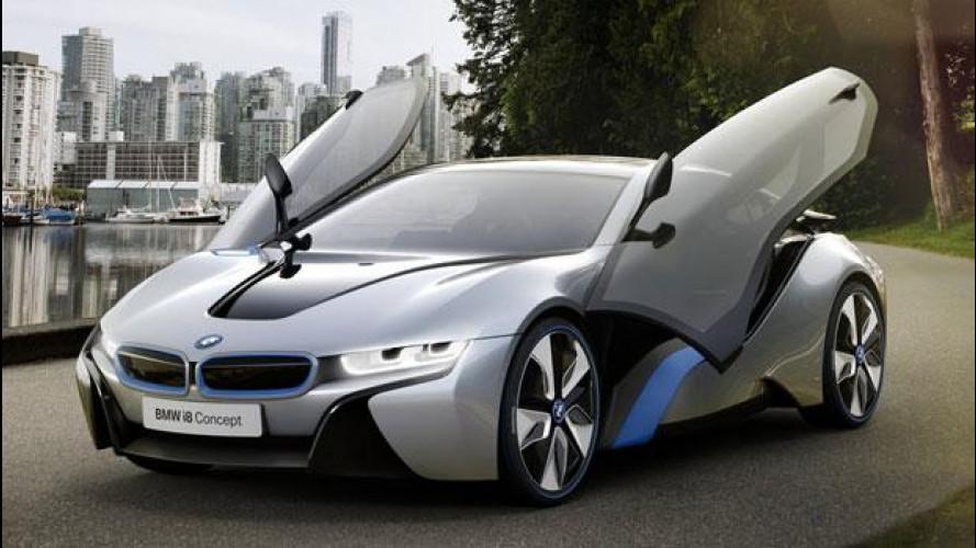 BMW i8 hybrid costerà più di 100mila euro