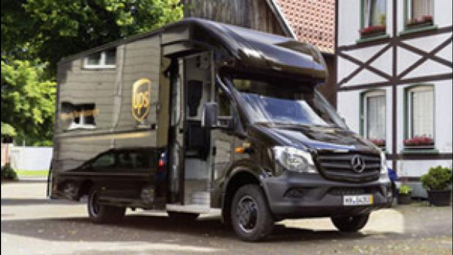 [Copertina] - Mercedes Sprinter si trasforma in corriere