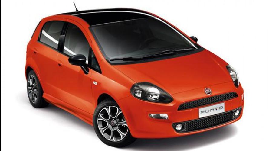 Fiat Punto 2013, listino prezzi da 11.900 euro