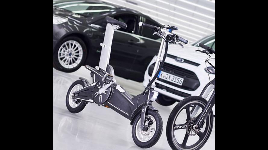 """Intermodalità, da Ford due e-bike """"intelligenti"""""""