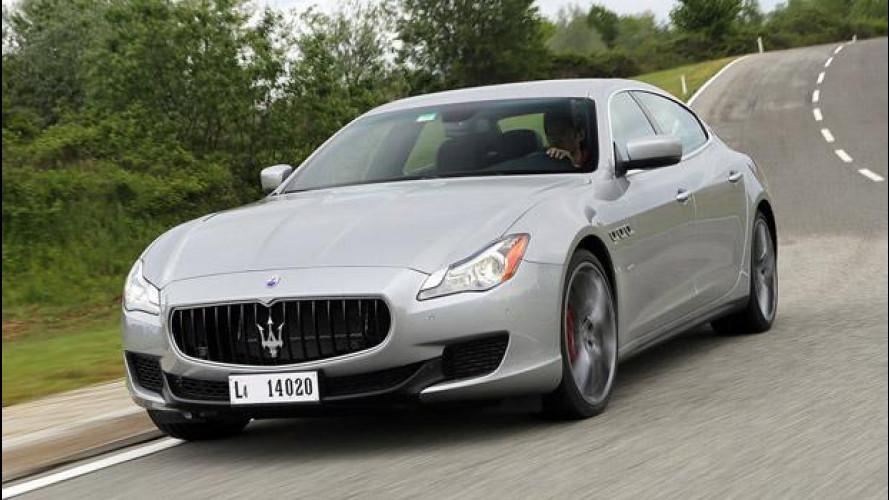 Maserati Quattroporte 3.0 V6 Q4: la prima volta del Tridente con il 4x4
