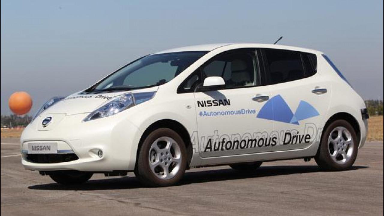 [Copertina] - Nissan e il futuro dell'auto a guida autonoma