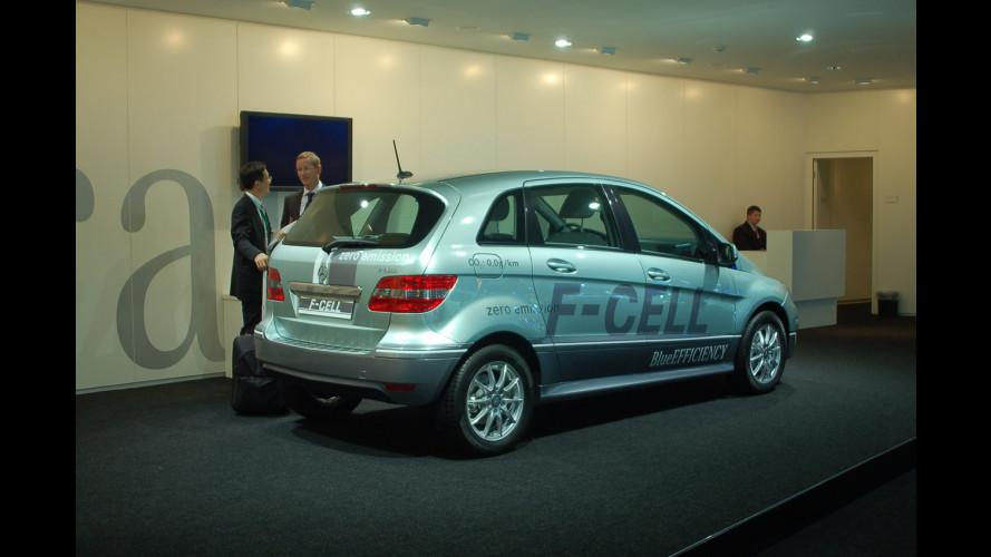 Mercedes Classe B F-Cell? Presente!