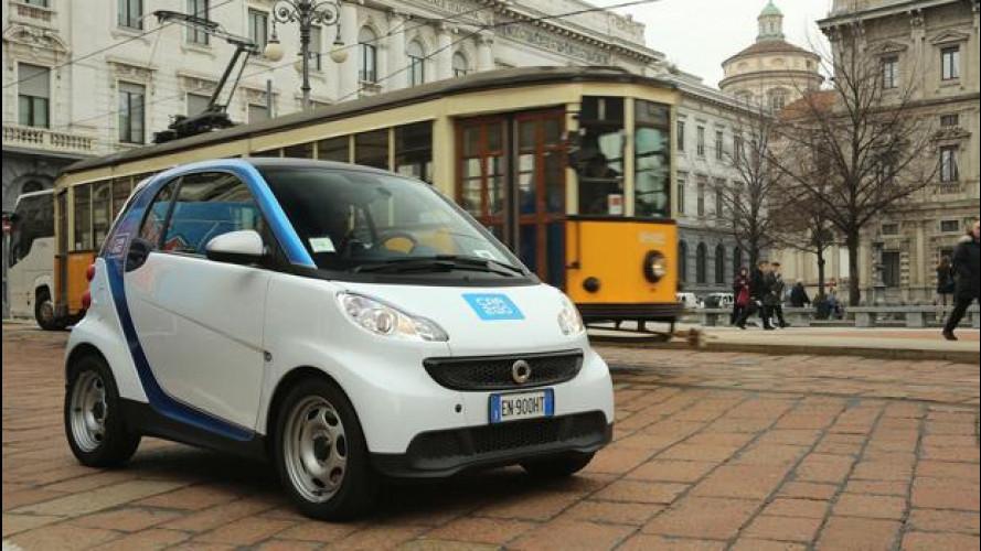 Car2go, a Milano boom di iscrizioni