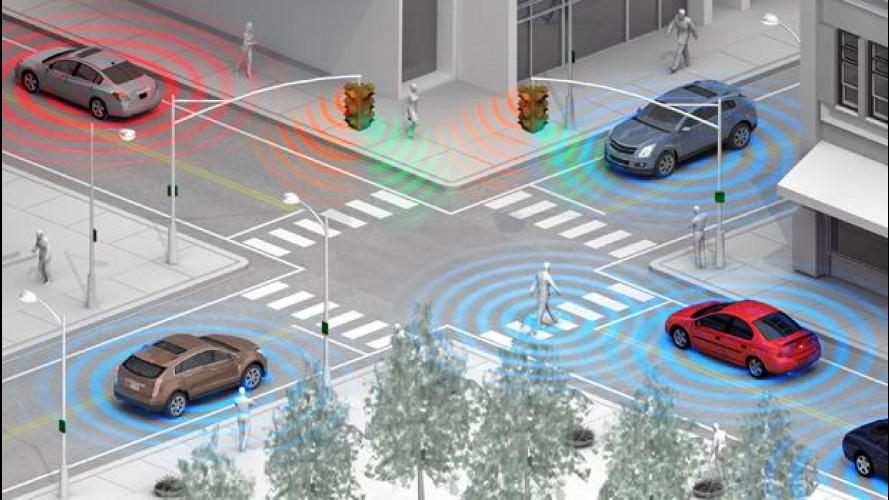"""GM sviluppa il riconoscimento pedoni """"wireless"""""""