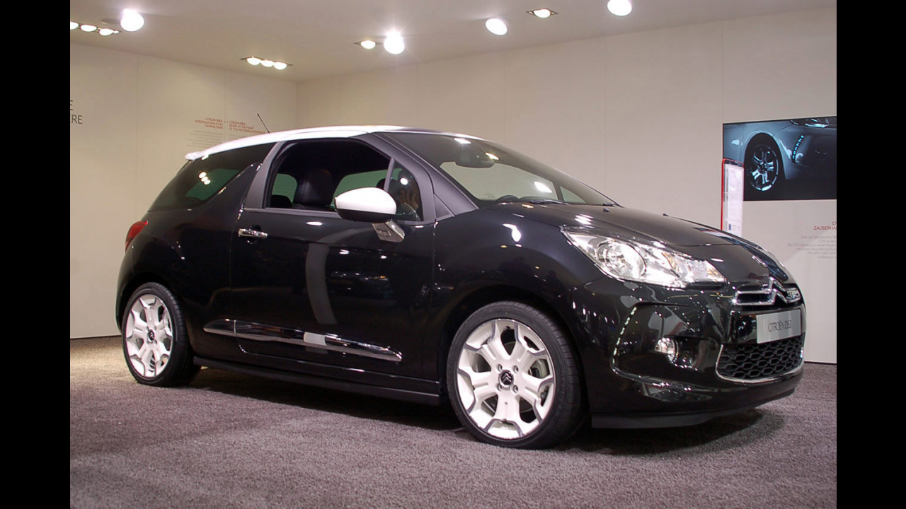 Citroen DS3 al Salone di Francoforte 2009