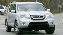 2009 Honda Pilot spy photo