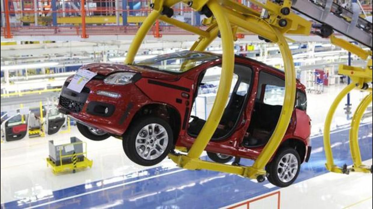 [Copertina] - Tecnici Volkswagen in visita alla Fiat di Pomigliano d'Arco