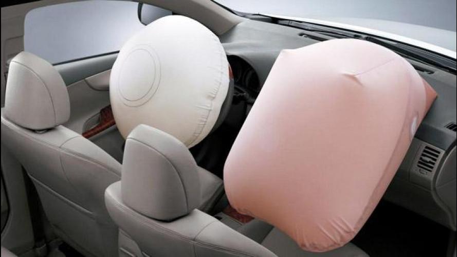 [Copertina] - Airbag difettosi: richiamo per 3,4 mln di auto giapponesi