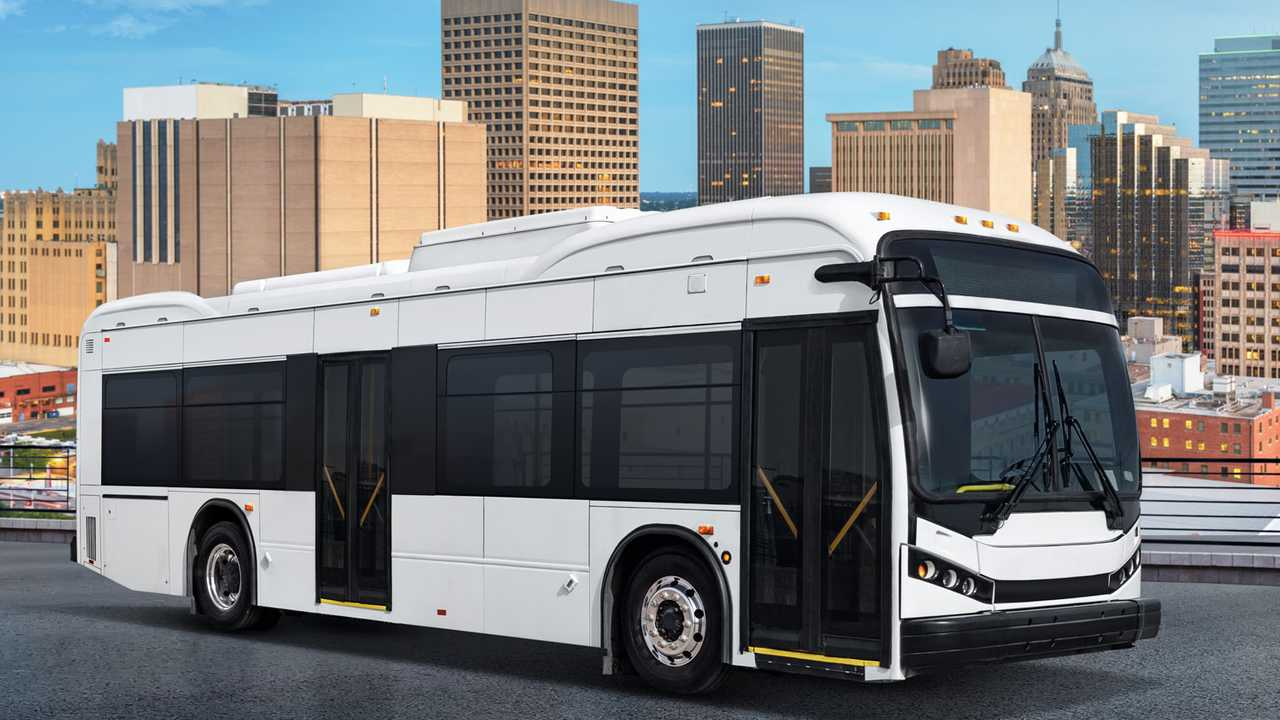 BYD K9S 35 ft electric transit bus in the U.S.