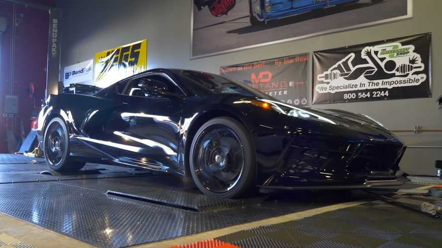 Watch Corvette C8 Hit Dyno To Record Power Jump After Break-In Period