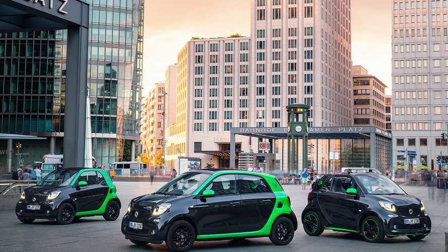 Daimler привезет в Россию новые smart electric drive