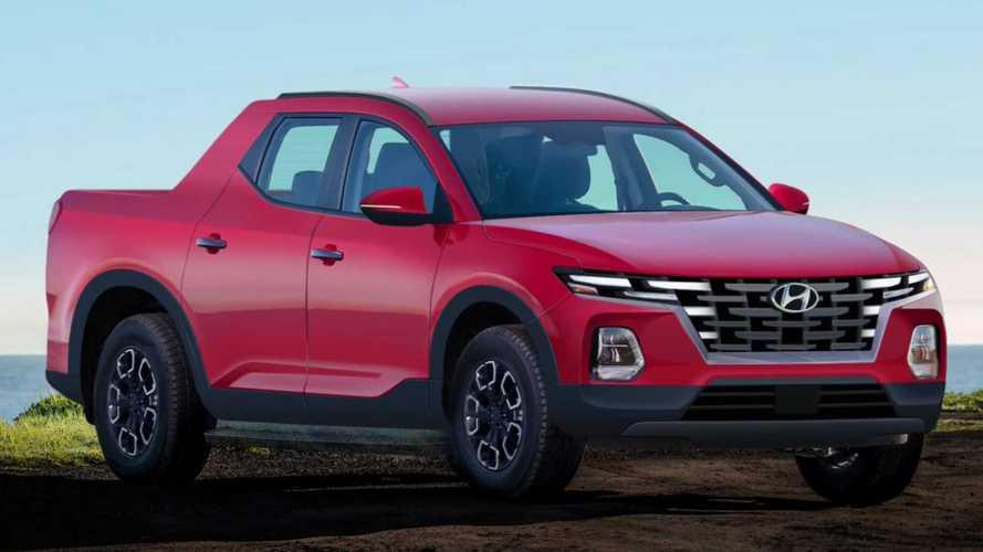 Hyundai Santa Cruz Rendering Imagines The Concept In Production Guise