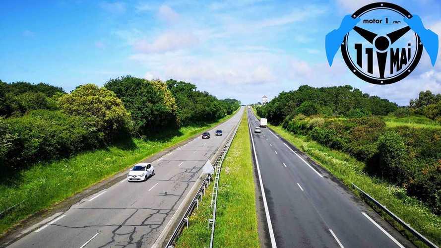 11 mai - Déplacements en voiture : 100 km à vol d'oiseau si... [MÀJ]