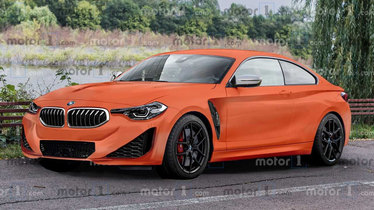BMW 2 Series Coupe rendering