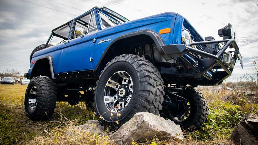 Enter To Win This Custom '72 Ford Bronco And A Bag Of Cash!