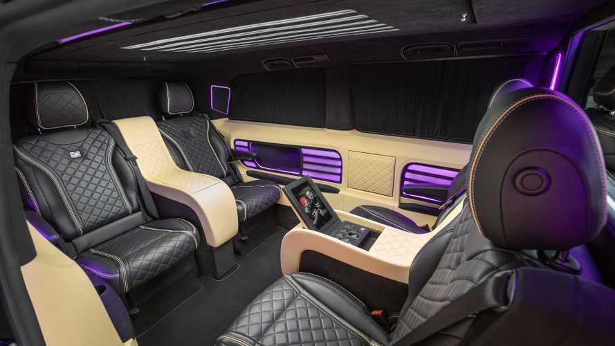 El Mercedes-Benz Clase V recibe un interior muy opulento