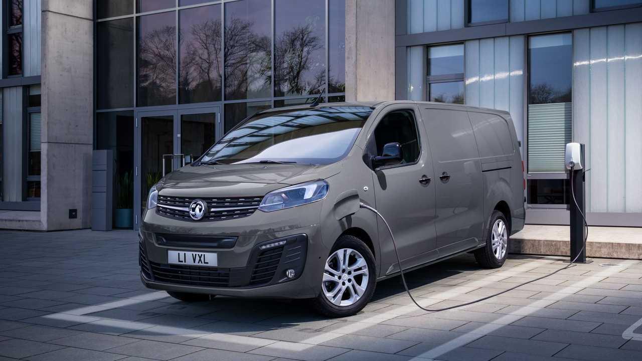 Vauxhall Vivaro-e charging
