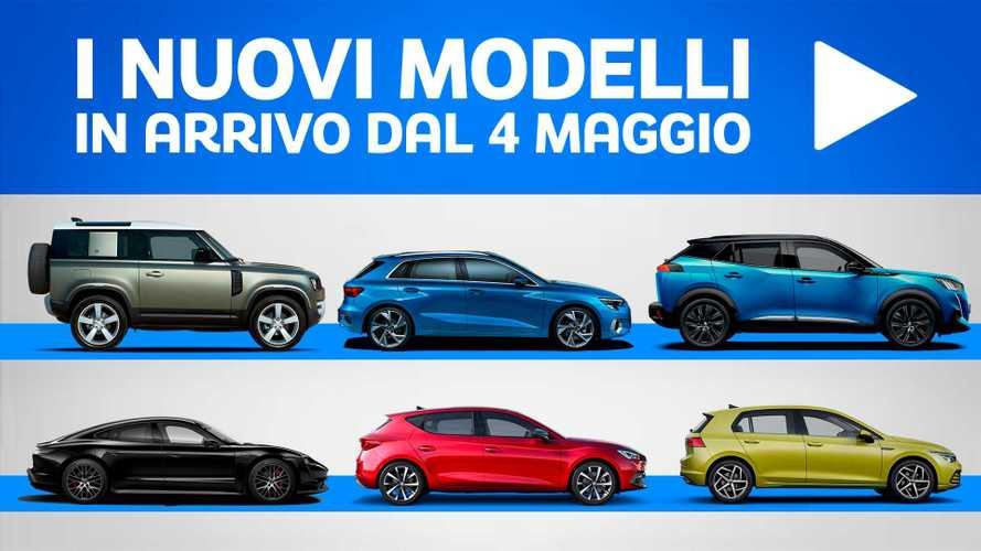 Novità auto, tutti modelli che arrivano in concessionaria dal 4 maggio
