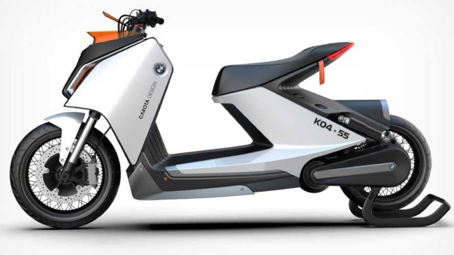 The Next BMW Electric Scooter Imagined With Quirky Z Design