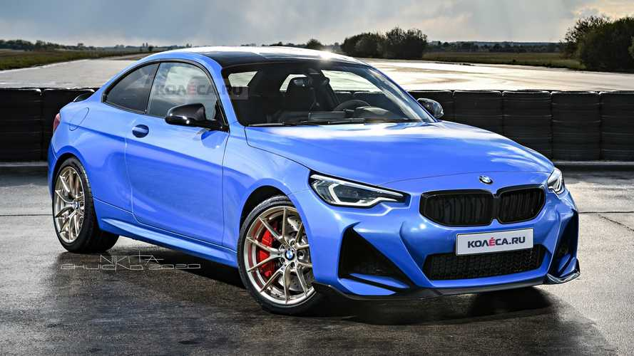2022 BMW 2 Series Coupe Already Rendered Based On The Spy Shots
