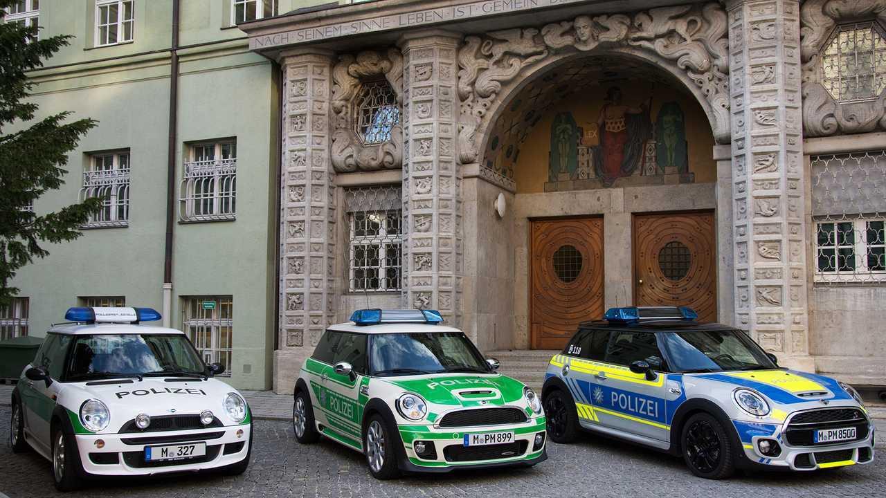 Polizeiautos in Deutschland: Mini