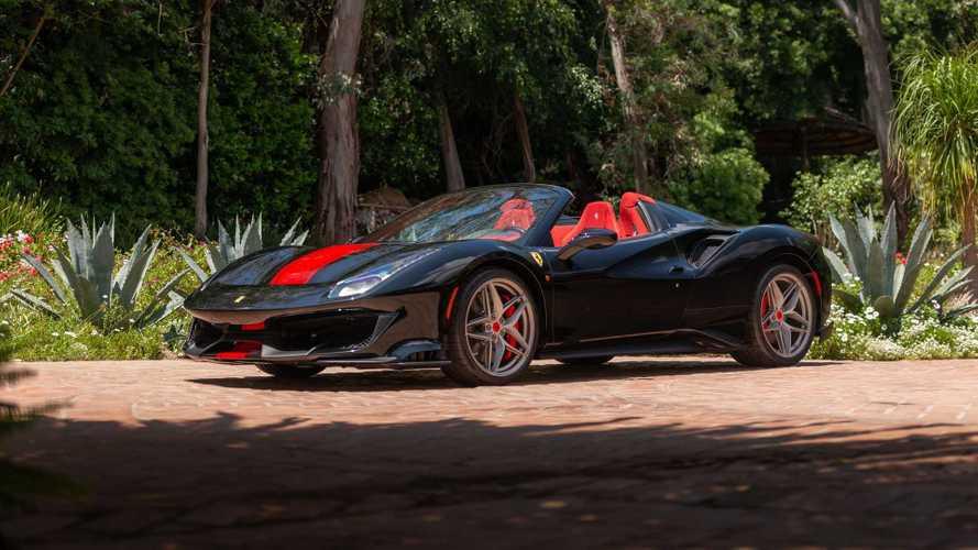 Ferrari 488 Pista Spider (subasta RM Sotheby's)