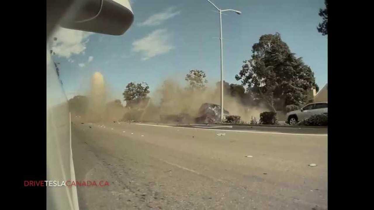 crazy road rage tesla cam