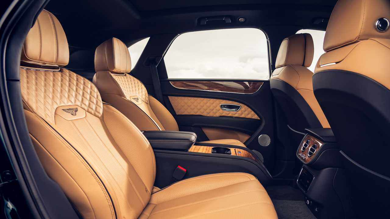 2021 Bentley Bentayga with Four Seat Comfort Specification