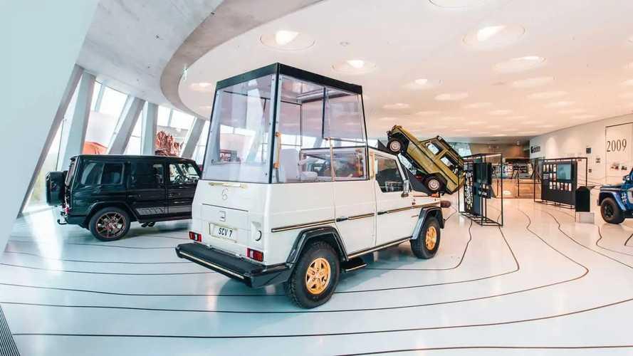 La Classe G Papamobile del 1980 compie 40 anni