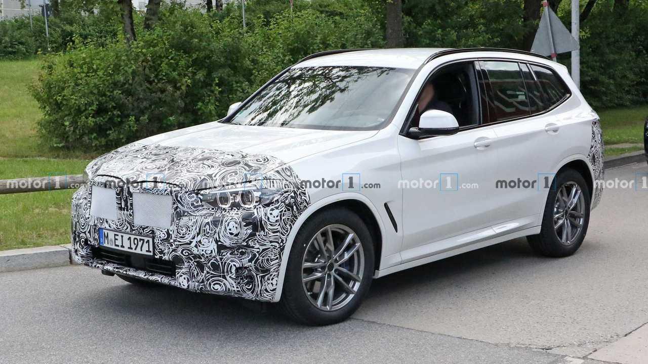 2022 BMW X3 Spion Foto Vorderansicht