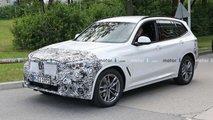 BMW X3 Facelift (2021) zum ersten Mal erwischt