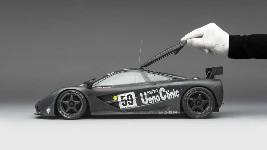 Amalgam Collection: McLaren F1 GTR Ueno Clinic 1995 Le Mans Winner