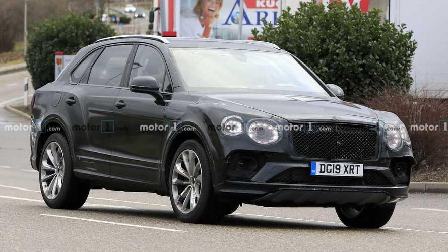Le Bentley Bentayga restylé s'avance