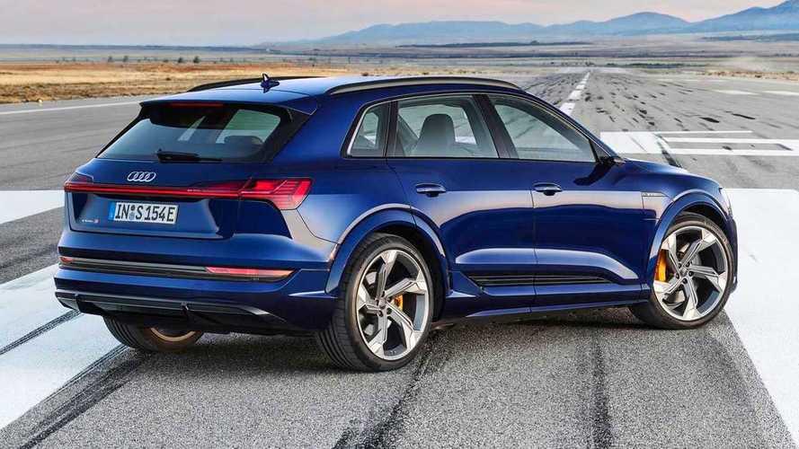 Audi e-tron S: tre motori elettrici, 503 CV e 0-100 km/h da sportiva