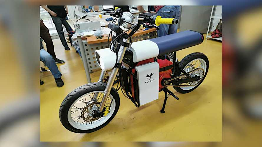 Punch Electric Motorcycle Belarus