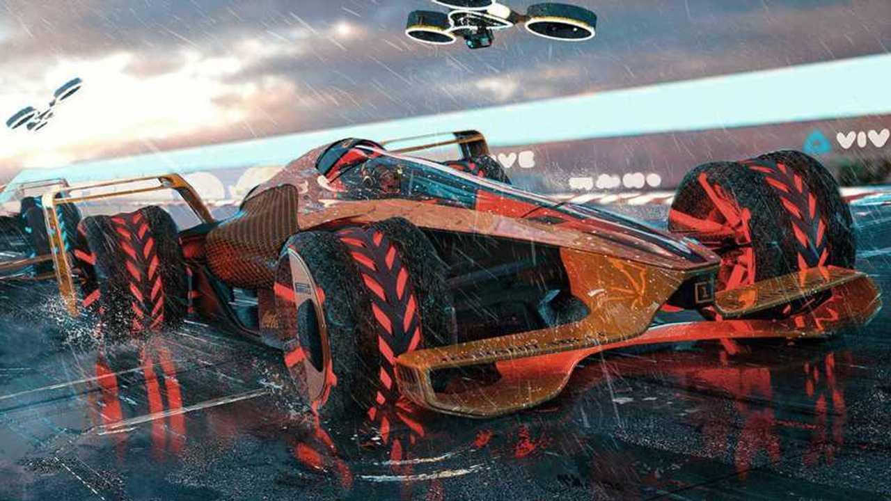 McLaren представил виденье «Формулы-1» 2050 года. Оно напоминает настоящую Formula E